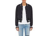 Amiri Women's Insulated Silk Bomber Jacket Black