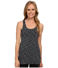 Zen Seeker Tunic Lucy Black Spacedye Women's Sleeveless Gray
