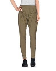Red Soul Trousers Casual Trousers Women Military Green