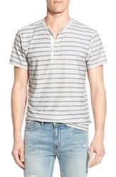 Men's Sol Angeles Stripe French Terry Henley