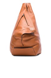 Loewe Anton Backpack In Brown