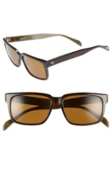 Salt 'Wooderson' 55Mm Polarized Sunglasses Brown Green Brown