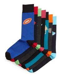 Jonathan Adler 7 Days Of Socks Box Set Multi