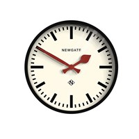 Newgate The Luggage Clock Black
