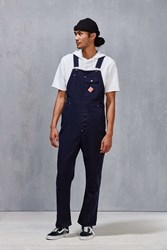 Brixton Fleet Relaxed Fit Overall Navy