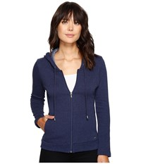 Ugg Sarasee Hoodie Navy Heather Women's Fleece Gray