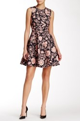 Jill Stuart Emilie Fit And Flare Dress Pink