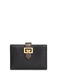 Givenchy Gv3 Leather Wallet Black Grey