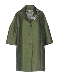 Shirtaporter Overcoats Military Green