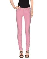 Fornarina Denim Denim Trousers Women Pink