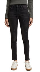 Vince 5 Pocket Skinny Jeans Vintage Black Wash