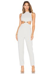 Misha Collection Enya Jumpsuit Light Gray