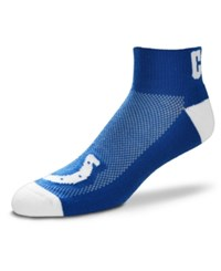 For Bare Feet Indianapolis Colts The Cuff Ankle Socks Royalblue