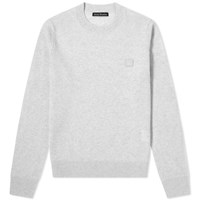 Acne Studios Kalon Face Crew Knit Grey