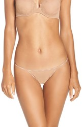 La Perla Women's Sexy Town G String Thong Nude