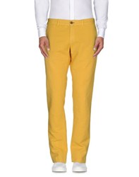 Maison Clochard Trousers Casual Trousers Men Yellow