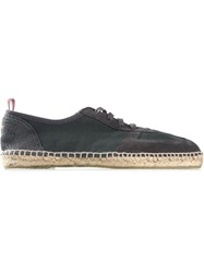 Casta Er 'Tito' Lace Up Espadrilles Grey