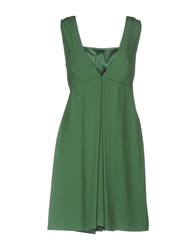 Max And Co. Short Dresses Green