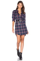 Dl1961 Prince And Mott Button Up Dress Navy