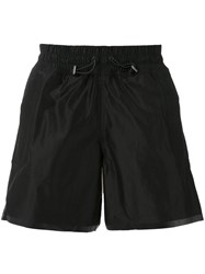 Adidas Drawstring Shorts Men Nylon Polyester S Black