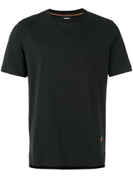Paul Smith Strawberry Embroidery T Shirt Black