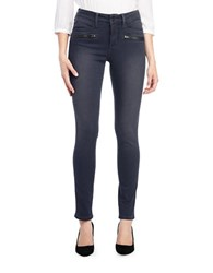 Nydj Dark Wash 6 Pocket Skinny Jeans La Rochell