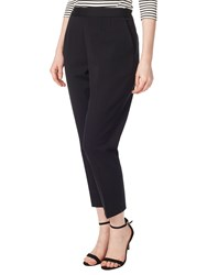 Precis Petite Twill Cropped Trousers Black