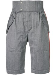 Thom Browne Articulated Double Pocket Short Grey