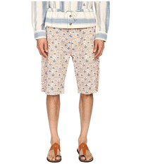 Vivienne Westwood Anglomania Bob Shorts Blue Orange Men's Shorts