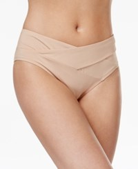 Kenneth Cole Sexy Solids Crossover Hipster Bikini Bottoms Women's Swimsuit Sand