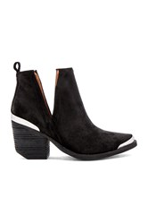 Jeffrey Campbell Cromwell Booties Black