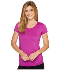Marmot Aero Short Sleeve Neon Berry Women's T Shirt Multi