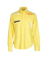Jc De Castelbajac Shirts Shirts Men Yellow