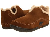 Sorel Manawantm Marsh Slippers Brown
