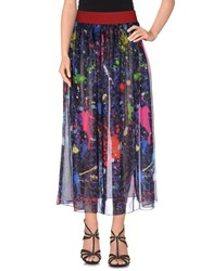 Leitmotiv Skirts 3 4 Length Skirts Women Dark Blue