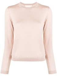 Red Valentino Crew Neck Jumper Pink
