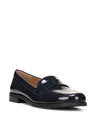Franco Sarto Valera Glossy Loafers Navy Blue
