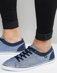 Rock And Religion Plimsolls Blue