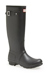 Hunter Women's 'Original Tall' Rain Boot Black Matte