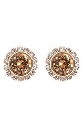 Women's Ted Baker London 'Crystal Daisy' Stud Earrings Gold