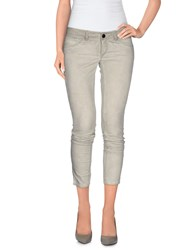 Camouflage Ar And J. Trousers Casual Trousers Women Grey