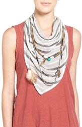 Women's Bcbgeneration Layered Triangle Scarf