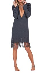 Volcom Women's Shred Till Dead Hooded Sweater Dress