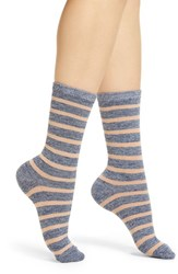 Richer Poorer Nora Classic Crew Socks Blue Multi