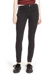 Women's Marc By Marc Jacobs Zip Detail Skinny Denim Pants