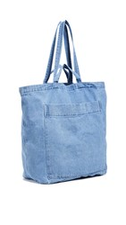 Baggu Giant Pocket Tote Light Denim