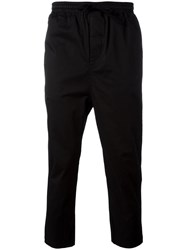Stampd Cropped Pants Black