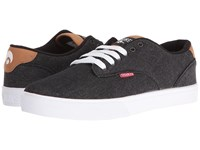 Osiris Slappy Vlc Black Denim Men's Skate Shoes