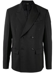 N 21 No21 Double Breasted Blazer Black