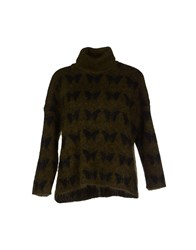 Suoli Knitwear Turtlenecks Women Military Green